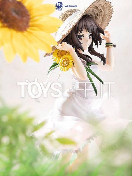 Kadokawa Kono Subarashii Sekai ni Syukufuku wo Megumin Sunflower One-Piece Dress 1:7 Pvc Statue