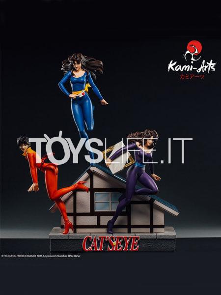 Kami Arts Cat's Eye Rui Ai & Hitomi Kisugi 1:6 Statue