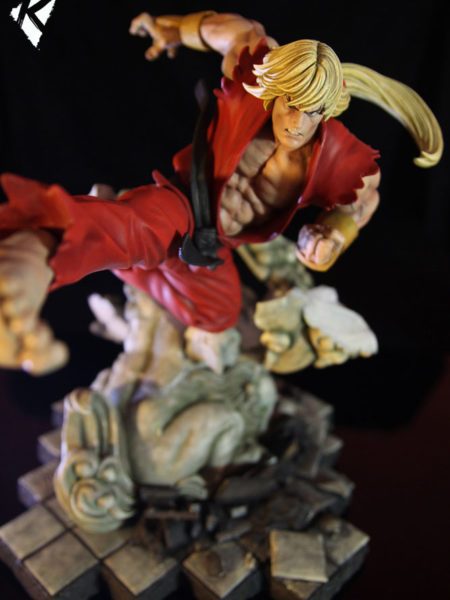 Kinetiquettes Street Fighter Ken Masters Battle Of Brothers 1:6 Statue