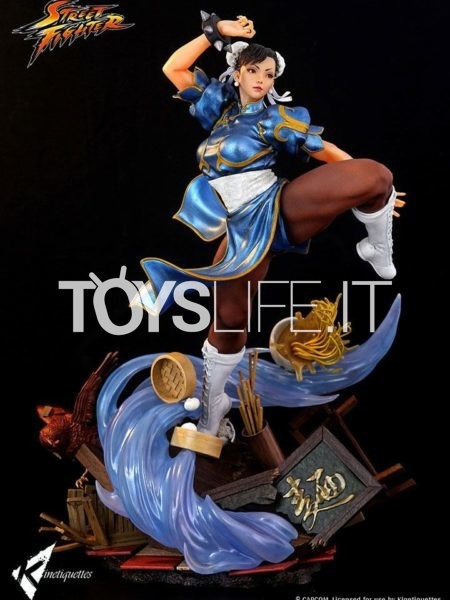 Kinetiquettes Street Fighter Chun Li The Strongest Woman in The World 1:4 Diorama
