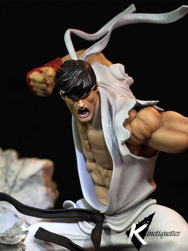 Kinetiquettes Street Fighter Ryu Battle Of Brothers 1:6 Statue