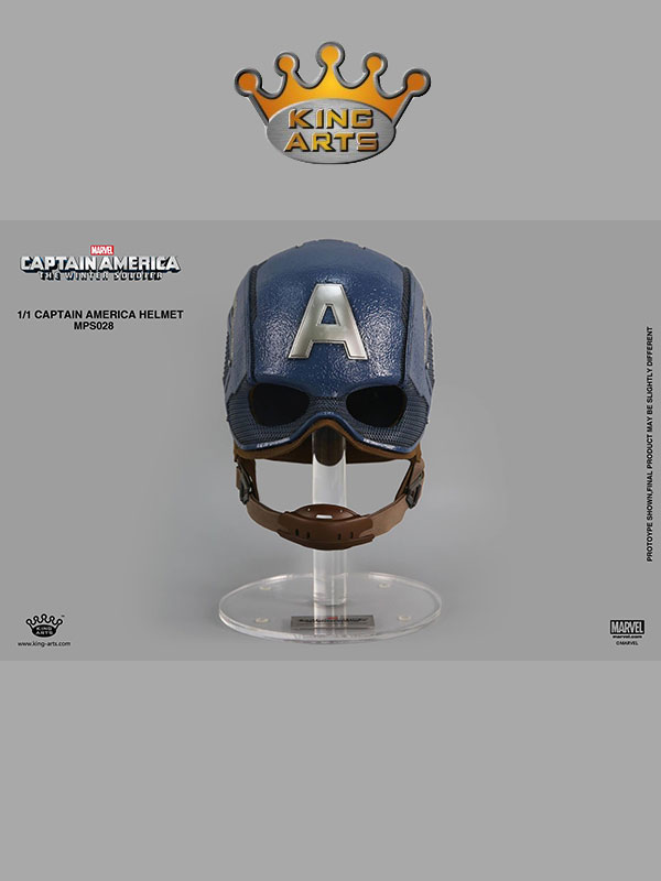 King Arts Captain America Helmet Replica 1:1