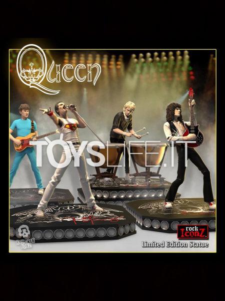 Knuclebonz Rock Iconz Queen Freddie Mercury/ Brian May/ Roger Taylor/ Johan Deacon Statue