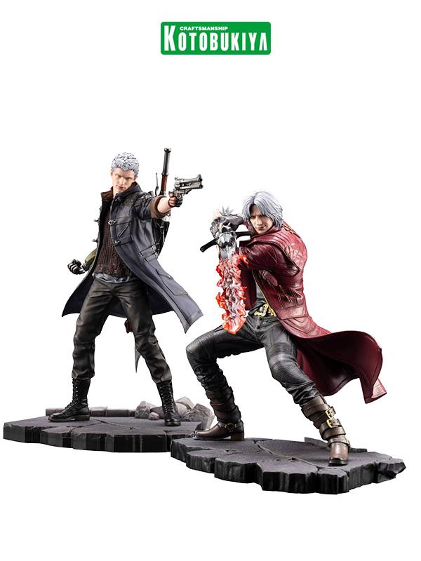 Kotobukiya Devil May Cry 5 Dante/Nero Artfx Statue