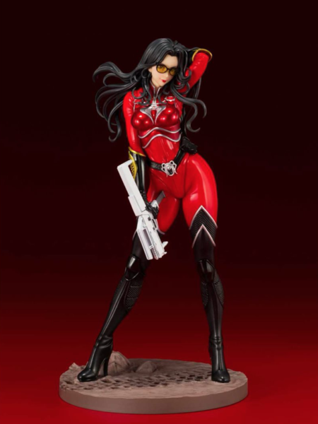 Kotobukiya G.I. Joe Baroness The Crimson Strike Team Red Version PX Exclusive Bishoujo Pvc Statue