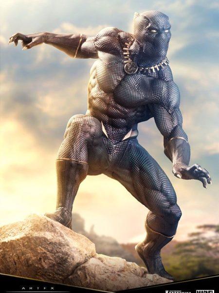 Kotobukiya Marvel Comics Black Panther Premier Artfx Pvc 1:10 Statue