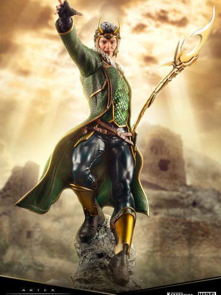 Kotobukiya Marvel Comics Loki Premier Artfx Pvc 1:10 Statue