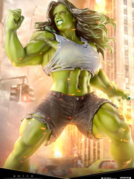 Kotobukiya Marvel Comics She Hulk Premier Artfx Pvc 1:10 Statue