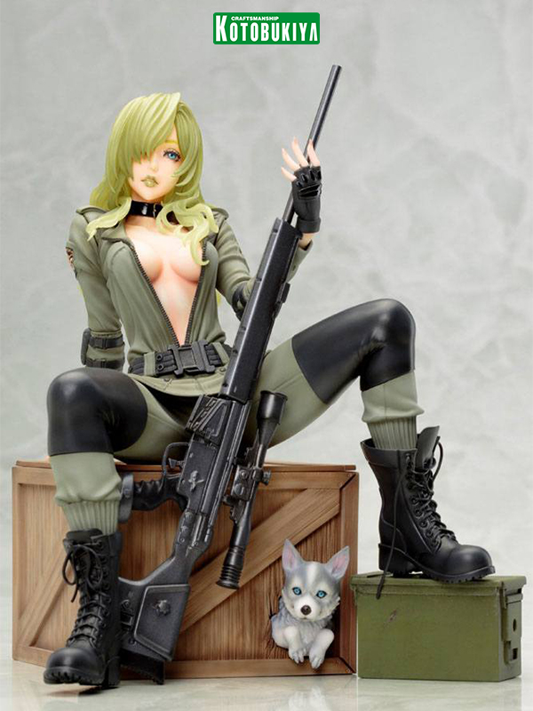 Kotobukiya Metal Gear Solid Sniper Wolf Bishoujo Pvc Statue