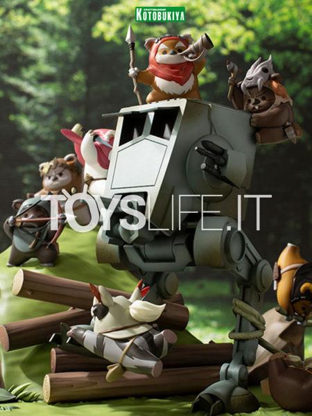 Kotobukiya Star Wars Battle of Endor The Little Rebels ARTFX Statue