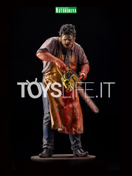 Kotobukiya Texas Chainsaw Massacre Leatherface Slaughterhouse Version Artfx Pvc 1:6 Statue