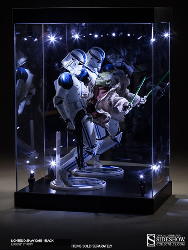 Legend Studio Lighted Display Case
