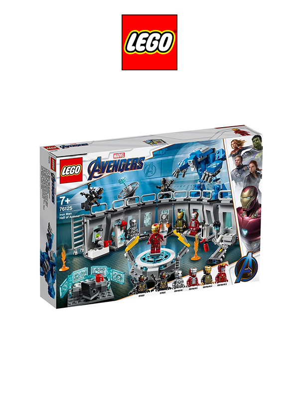 Lego Marvel Avengers Ironman Hall Of Armour