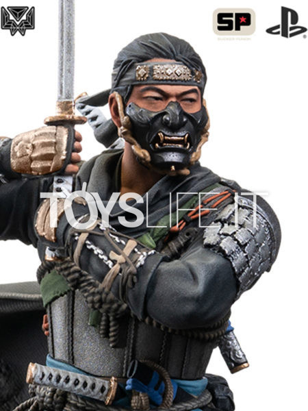 Level52 Studios Ghost of Tsushima Jin Sakai Statue