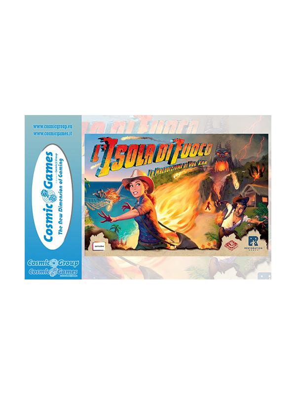L'Isola di Fuoco Gameboard Gioco da Tavolo