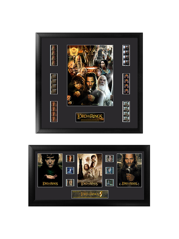 Lord Of The Rings Framed Film Cells 35mm Copy