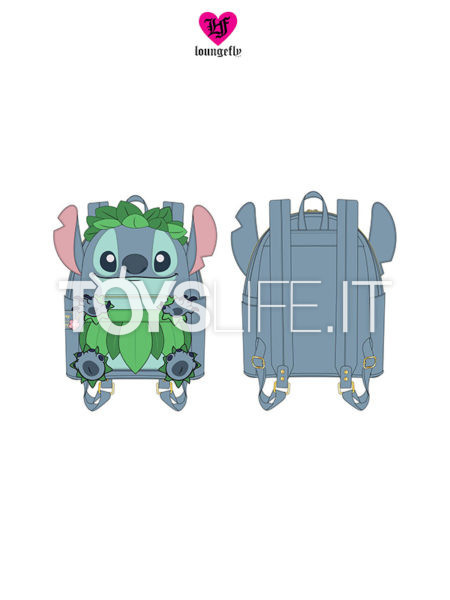 Loungefly Disney Lilo & Stitch Stitch Luau Backpack Zaino