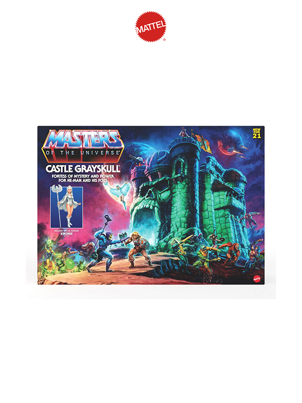 Mattel Masters of the Universe Origins 2021 Castle Grayskull