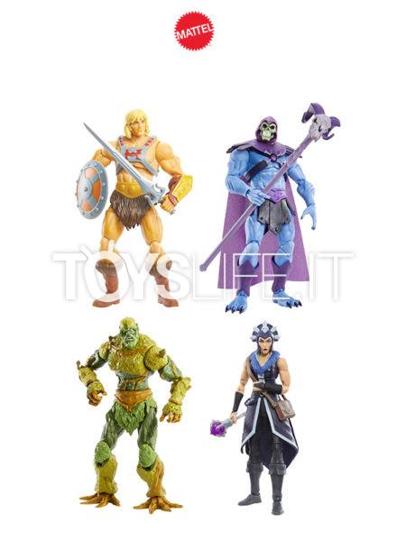Mattel Masters Of The Universe He-Man/ Skeleton/ Evil-Lyn/ Moss Man Figure