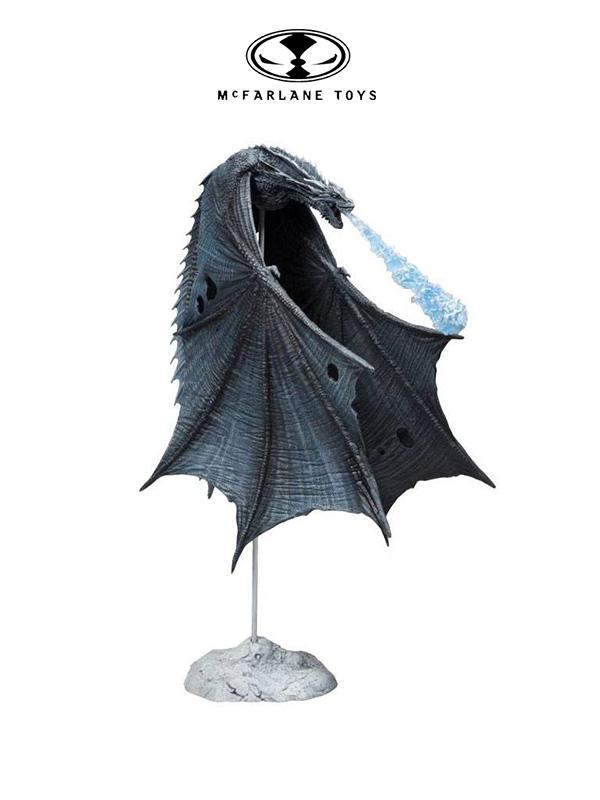 McFarlane Toys Game of Thrones Viserion Ice Dragon Figure