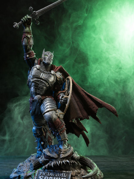 Mc Farlane Medieval Spawn Limited Edition Statue
