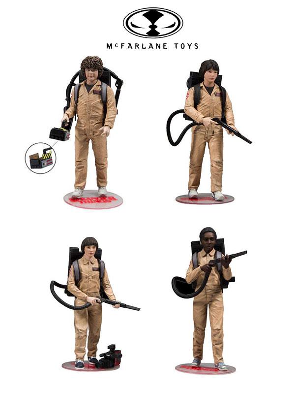 McFarlane Stranger Things 4-Pack Ghostbusters Action Figures 15 Cm
