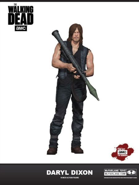 McFarlane Toys The Walking Dead Daryl Dixon Deluxe Figure 25 Cm
