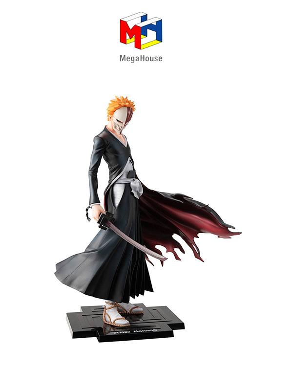 Megahouse Bleach Kurosaki Ichigo 10th GEM Series Anniversary Pvc Statue