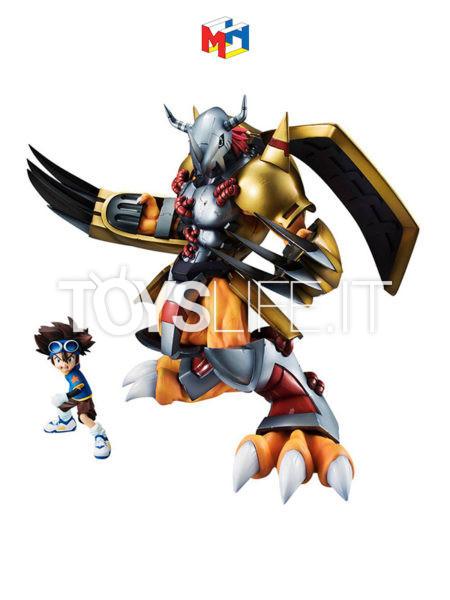 Megahouse Digimon Adventure Wargreymon & Taichi G.E.M. Pvc Statue
