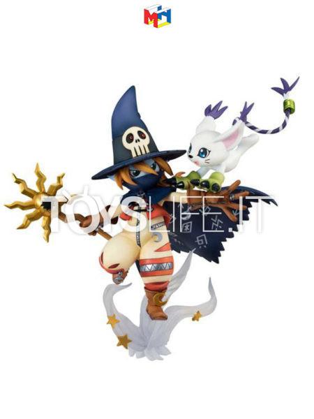 Megahouse Digimon Adventure Wizardmon & Tailmon G.E.M. Series Pvc Statue