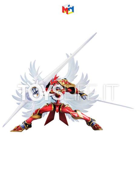 Megahouse Digimon Tamers Dukemon Crimson Mode G.E.M. PVC Statue