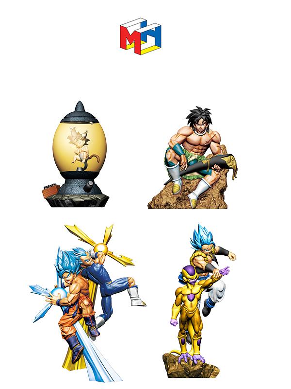 Megahouse Dragonball Super Dracap Rebirth 4 Figure Set