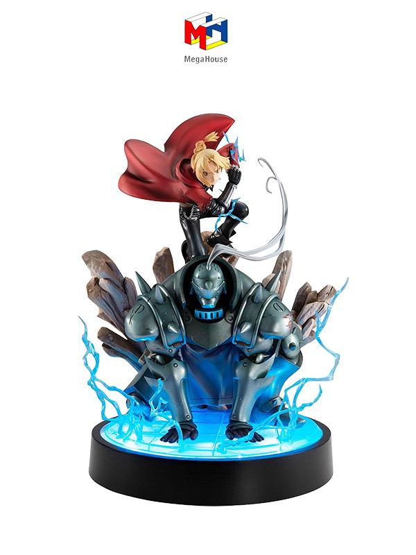 Megahouse Full Metal Alchemist Edward & Alphonse Elric Precious G.E.M. Series Statue
