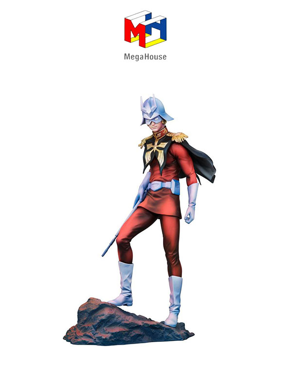 Megahouse Mobile Suit Gundam GGG Char Aznable Art Graphics Version Statue
