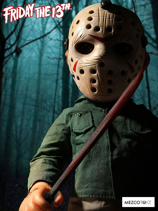 Mezco Toyz Friday The 13Th Jason Voorhees Mega Figure With Sound