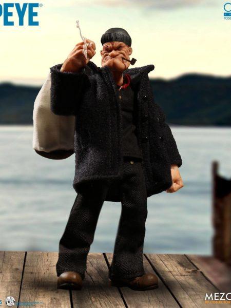 Mezco Toyz Popeye 1:12 Popeye Figure