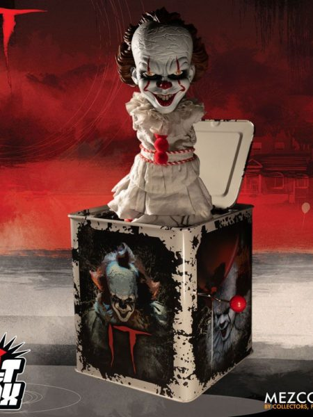 Mezco Stephen King's It 2017 Pennywise Burst A Box Music Box 36 cm