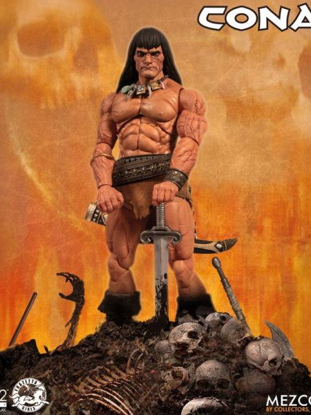 Mezco Toyz Conan the Barbarian Action Figure 1/12 Conan 17 cm