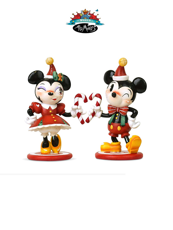 Miss Mindy 2019 Disney Christmas Mickey/Minnie Set