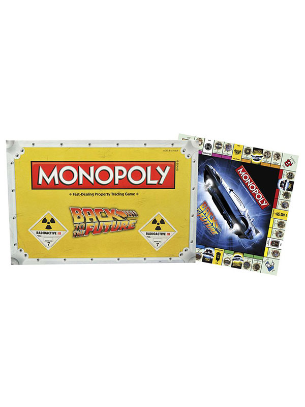 Monopoly Back To The Future UK Trilogy Edition