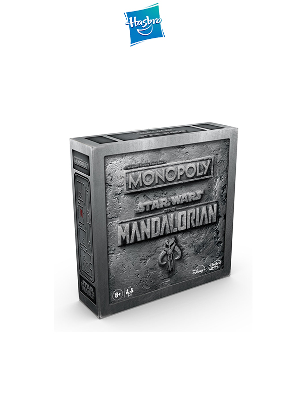Hasbro Star Wars The Mandalorian Monopoly English Edition