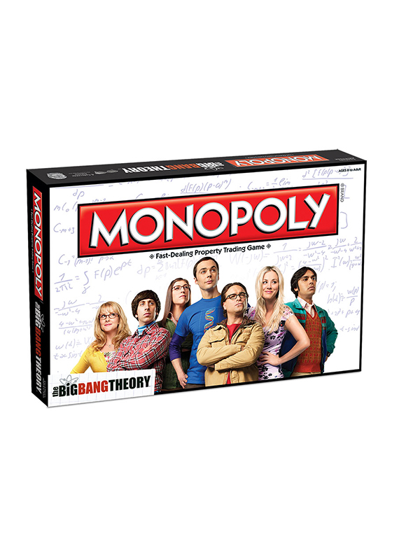 Monopoly The Big Bang Theory UK Edition