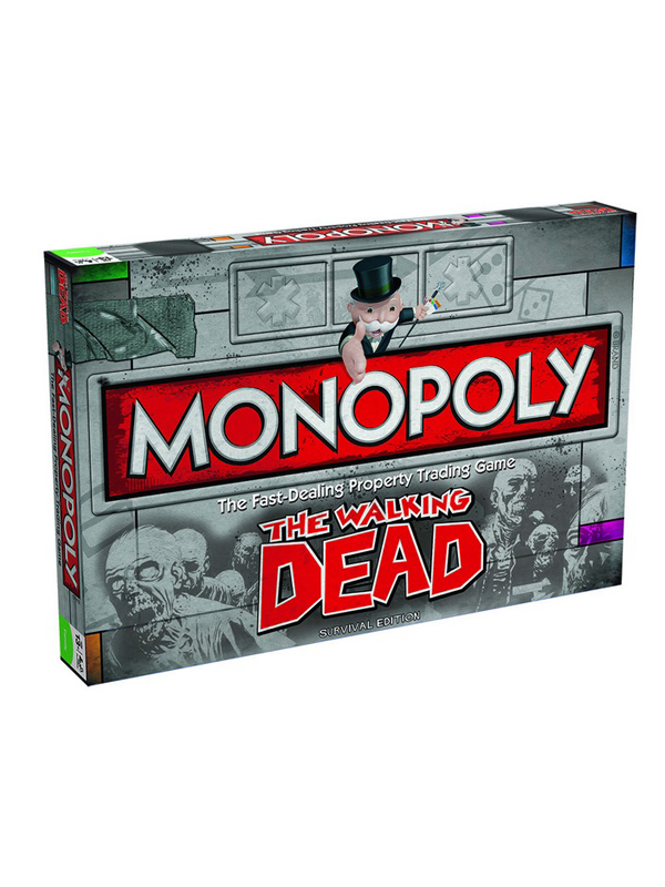 Monopoly The Walking Dead Comic Survival Edition UK