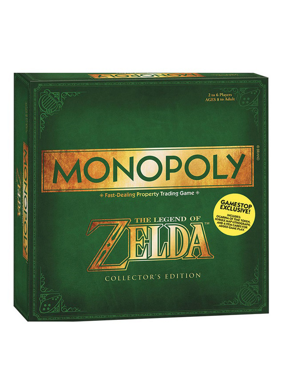 Monopoly Zelda Collector's Edition UK