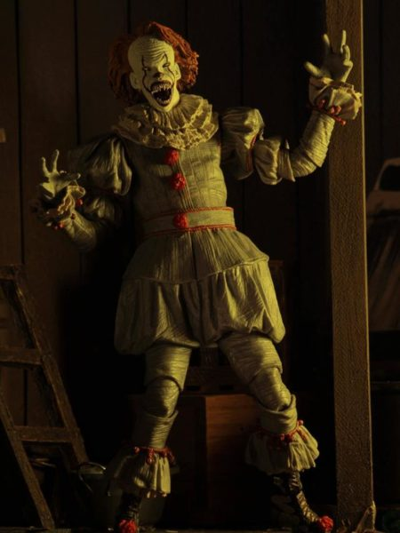 Neca 2017 IT Pennywise Well House Ultimate Figure