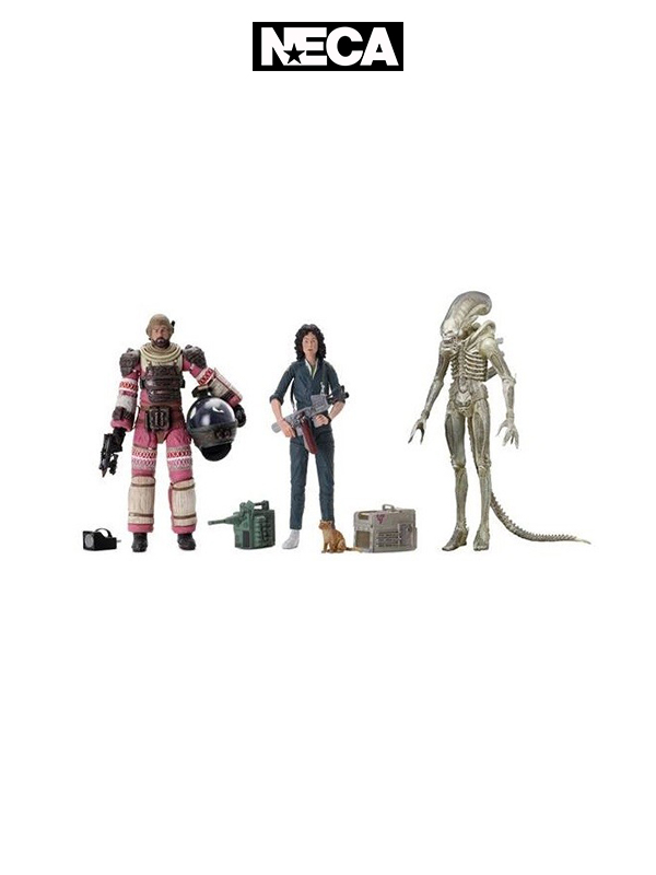 Neca Alien 40th Anniversary Ripley Dallas & Big Chap Set
