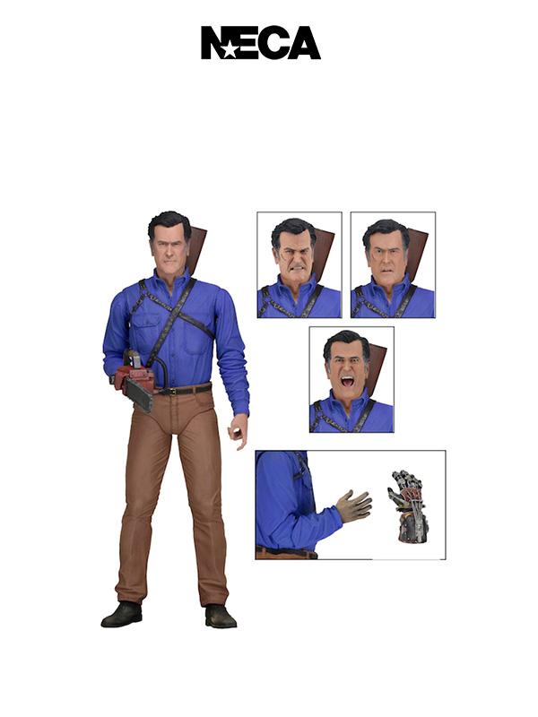 Neca Ash Vs Evil Dead Ash Williams Ultimate Figure
