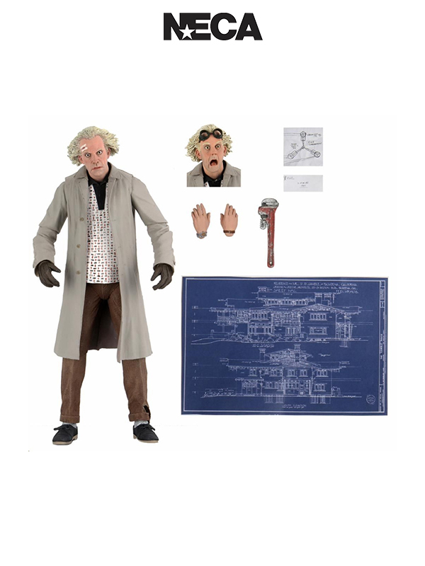 Neca Back To The Future Doc Brown Ultimate Figure