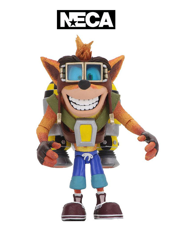 Neca Crash Bandicoot Crash with Jetpack Deluxe Figure