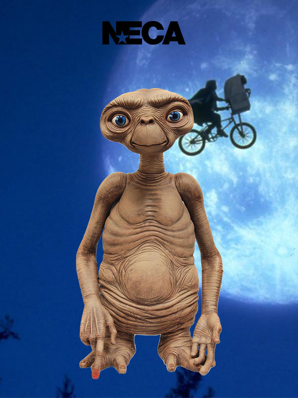 Neca Et The Extraterrestrial Et Lifesize 1:1 Replica